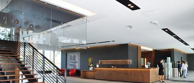 plafond tendu blanc clipso fortineau entreprise 44. Black Bedroom Furniture Sets. Home Design Ideas